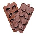 halpa Kakkumuotit-1kpl silikageeli for Cake kakku Muotit Bakeware-työkalut