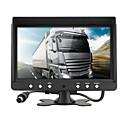 Недорогие DVD плееры для авто-dc 12v / 24v 9-дюймовый автомобильный парковочный монитор с 4-канальным 4-контактным монитором видеовхода hd автомобильный четырехъядерный сплит-монитор для камеры фургонов