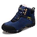 povoljno Muške čizme-Muškarci Kožne cipele Koža Zima Sportski / Ležerne prilike Čizme Planinarenje / Hodanje Ugrijati Čizme gležnjače / do gležnja Crn / Crvena / Plava