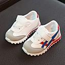 זול נעלי ילדים אתלטי-בנים נוחות סינטטיים נעלי אתלטיקה ילדים קטנים (4-7) אדום / ירוק / ורוד סתיו