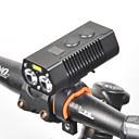 povoljno Svjetla za bicikle-LED Svjetla za bicikle Prednje svjetlo za bicikl LED Biciklizam Vodootporno Okretljive slavine Quick Release 18650 650 lm punjiva baterija Bijela Biciklizam / Rotacija za 360°