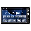 Недорогие DVD плееры для авто-2din Bluetooth автомобильный радиоприемник стерео 7 сенсорный в тире авто аудио видео mp5 плеер FM радио автомагнитола камера заднего вида
