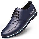 povoljno Muške oksfordice-Muškarci Udobne cipele Mikrovlakana Jesen zima Oksfordice Crn / Braon / Plava