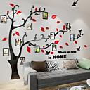 hesapli Duvar Çıkartmaları-Dekoratif Duvar Çıkartmaları - 3D Duvar Çıkartması Çiçek / Botanik Oturma Odası / İç Mekan