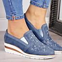 povoljno Ženske sandale-Žene Ravne cipele Ravna potpetica Okrugli Toe Mrežica Ljeto Plava / Pink / Sive boje