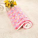 זול מיטות כלבים & שמיכות-כלבים ארנבים חתולים משטח למזרן מיטות שמיכות מיטה משטחים בד בד פלסטיק קטיפה טלאים צהוב כחול ורוד