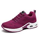 נעלי ספורט לנשים-בגדי ריקוד נשים נעלי אתלטיקה שטוח בוהן עגולה Tissage וולנט יום יומי ריצה אביב קיץ שחור / לבן / סגול