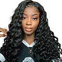 povoljno Perike s ljudskom kosom-Virgin kosa Netretirana  ljudske kose Lace Front Perika stil Peruanska kosa Valovita kosa Loose Curl Natural Perika 130% 250% Gustoća kose s dječjom kosom Prirodna linija za kosu Afro-američka perika