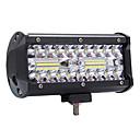 povoljno Krovna rasvjeta-visoki svijetli 400w vodio 3 reda 7inch 40000lm radno svjetlo bar svjetlo za vožnju u boji temperatura6000k paket1kom