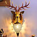 povoljno Ugradnju Zidne svjetiljke-Kreativan Nordijski stil Zidne svjetiljke Spavaća soba / Unutrašnji Resin zidna svjetiljka 220-240V 40 W