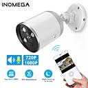 Недорогие IP-камеры для помещений-Inqmega 720p 1080p Wi-Fi IP-камера пуля Onvif Открытый WaterDichte CCTV камеры безопасности двустороннее аудио приложение удаленного просмотра карт TF