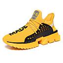 hesapli Erkek Atletik Ayakkabıları-Erkek Ayakkabı Tissage Volant Sonbahar Kış Sportif Atletik Ayakkabılar Koşu / Yürüyüş Günlük için Siyah / Drak Red / Beyaz