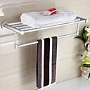 זול מדפי מקלחת-צדף לחדר האמבטיה יצירתי / רב שימושי מודרני אלומיניום 1pc מותקן על הקיר