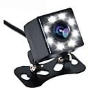 זול מצלמת מראה אחורי לרכב-8 נורות led מצלמה לגיבוי מבט אחורי לרכב ראיית לילה 170 מעלות