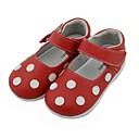 halpa Kids' Flats-Tyttöjen Nahka Tasapohjakengät Pikkulapset (4-7 vuotta) Comfort Valkoinen / Punainen Syksy