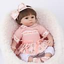 halpa Reborn Dolls-NPK DOLL Reborn Dolls Reborn Toddler Doll Poikavauvat Tyttövauvat 18 inch Turvallisuus Gift Sievä Lasten Unisex / Tyttöjen Lelut Lahja