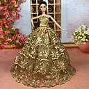 povoljno Dodaci za lutku-Haljina za lutke Party / Večer Za Barbie Šljokice Poliester Haljina Za Djevojka je Doll igračkama