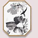 olcso Bekeretezett műalkotások-Bekeretezett olajfestmény - Csendélet Acryl Olajfestmény Wall Art