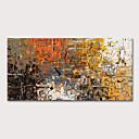 povoljno Apstraktno slikarstvo-Hang oslikana uljanim bojama Ručno oslikana - Sažetak Apstraktni pejsaži Moderna Bez unutrašnje Frame