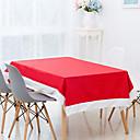 זול כיסויי שולחן-קלסי לא ארוג ריבוע כיסויי שולחן חג חג המולד לוח קישוטים