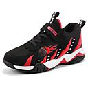 זול נעלי ילדים אתלטי-בנים נוחות PU נעלי אתלטיקה ילדים גדולים (7 שנים +) כדורסל שחור / אדום / כחול סתיו