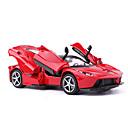 זול מכוניות צעצוע-מכוניות צעצוע דגם רכב מכונית מרוץ סימולציה מוסיקה ואור יוניסקס בנים צעצועים מתנות / מתכת