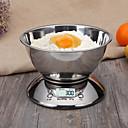 זול משקלות מדידה-5 kg * 1 גרם באופן אוטומטי בחדות גבוהה LCD תצוגת LCD אלקטרונית בקנה מידה מטבח ביתי מטבח מדי יום