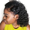 povoljno Perike s ljudskom kosom-Ljudska kosa Lace Front Perika Bob frizura Stepenasta frizura Kratak Bob stil Brazilska kosa Wavy Water Wave Natural Perika 130% Gustoća kose s dječjom kosom Žene Rasprodaja Prirodna linija za kosu