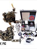 economico Abiti da sposa-Macchina del tatuaggio Kit tatuaggio professionale - 2 pcs Macchinette per Tatuaggio , Professionale LCD alimentazione Confezione inclusa