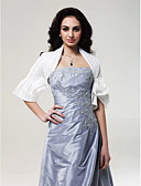 cheap Mother of the Bride Dresses-Taffeta Wedding Wedding  Wraps With Flower Coats / Jackets