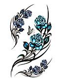 tanie Majtki damskie-Naklejki z tatuażem Tatuaże tymczasowe Seria kwiatowa / Seria romantyczna Jednorazowy / Wysoka jakość, bez formaldehydów Sztuka na ciele Korpus / Noga / Plecy