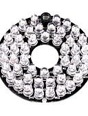 preiswerte Damen Pullover-Infrarot-Strahler 48-LED Illuminator Board Plate for 3.6mm Lens Security Camera für Sicherheit Systeme 6*6*1.5cm 0.015kg