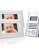 preiswerte Abendkleider-zwei 7 Zoll Farb-TFT-LCD-Video-Türsprechanlage Intercom-System (1 Legierung Kamera)
