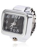 preiswerte Quartz-Damen Ringuhr Armbanduhren für den Alltag Legierung Band Charme Silber / Ein Jahr / SSUO SR626SW