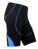 cheap Men's Belt-SANTIC Men's Cycling Padded Shorts - Black Bike Shorts, Quick Dry, Breathable Spandex, Coolmax® Stripe / High Elasticity