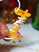 billige Slips og butterfly-giraf gummi spoleapparatet (tilfældig farve)