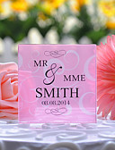 cheap Wedding Gifts-Cake Topper Floral Theme Classic Theme Crystal Wedding Anniversary With Gift Box