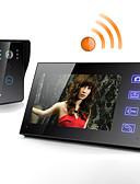 preiswerte Hochzeitskleider-Wireless 7 Zoll LCD-Touchscreen Telefon Intercom Video Tür Türklingel Hause Sicherheit Kamera Monitor