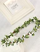 billige Brudepikekjoler-Dame / Blomsterpige Silke Headpiece-Bryllup / Spesiell Leilighet Kranser