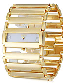cheap Quartz Watches-Women's Bracelet Watch Gold Watch Square Watch Japanese Stainless Steel Silver / Gold Casual Watch Ladies Luxury Elegant - Gold Silver
