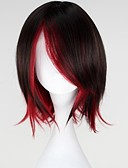 cheap Women's Tanks-Cosplay Wigs RWBY Ruby Anime Cosplay Wigs 35 CM Heat Resistant Fiber Women's
