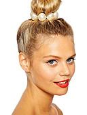 cheap Gloves-Women's Imitation Pearl Hair Tie Flower