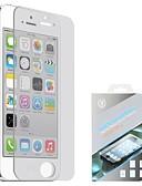 זול כבל & מטענים iPhone-AppleScreen ProtectoriPhone SE / 5s הוכחת פיצוץ מגן מסך קדמי יחידה 1 זכוכית מחוסמת