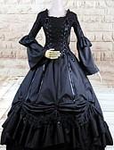 hesapli Gelin Şalları-Gotik Lolita Lolita Kadın's Elbiseler Cosplay Uzun Kollu Uzun (L)