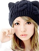 cheap Women's Hats-Women's Wool Beanie / Slouchy - Solid Colored / Cute / Winter / Hat & Cap