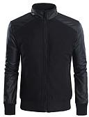ieftine Îmbrăcăminte Bărbați de Exterior-Bărbați Jachetă Șic & Modern-Mată