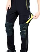 זול מכנסיים ושורטים לגברים-KORAMAN בגדי ריקוד גברים מכנסי רכיבה אופניים מכנסיים / תחתיות ייבוש מהיר, נושם אחיד ספנדקס שחור / אדום / שחור / ירוק / שחור / צהוב בגדי רכיבת אופניים / סטרצ'י (נמתח)