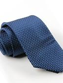 baratos Gravatas e Gravatas Borboleta-Homens Festa Trabalho Poliéster, Gravata - Estampado