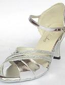 hesapli Göbek Dansı Giysileri-Kadın's Latin Dans Ayakkabıları Patentli Deri Sandaletler Kişiye Özel Kişiselleştirilmiş Dans Ayakkabıları Gümüş / Mavi / Altın / Süet