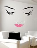 preiswerte Damen Socken & Strumpfwaren-Menschen Stillleben Romantik Mode Formen Fantasie Wand-Sticker Flugzeug-Wand Sticker Dekorative Wand Sticker, Vinyl Haus Dekoration